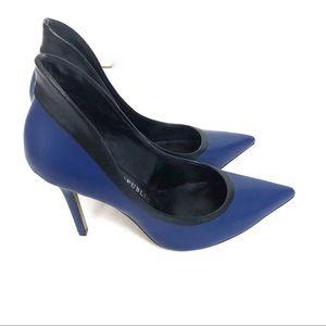 Rock & Republic Blue Black Chrissie High Heel 7.5